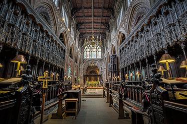 La Cattedrale di Manchester