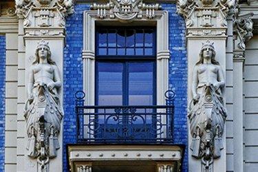 Il Centrs o Quartiere Art Nouveau di Riga