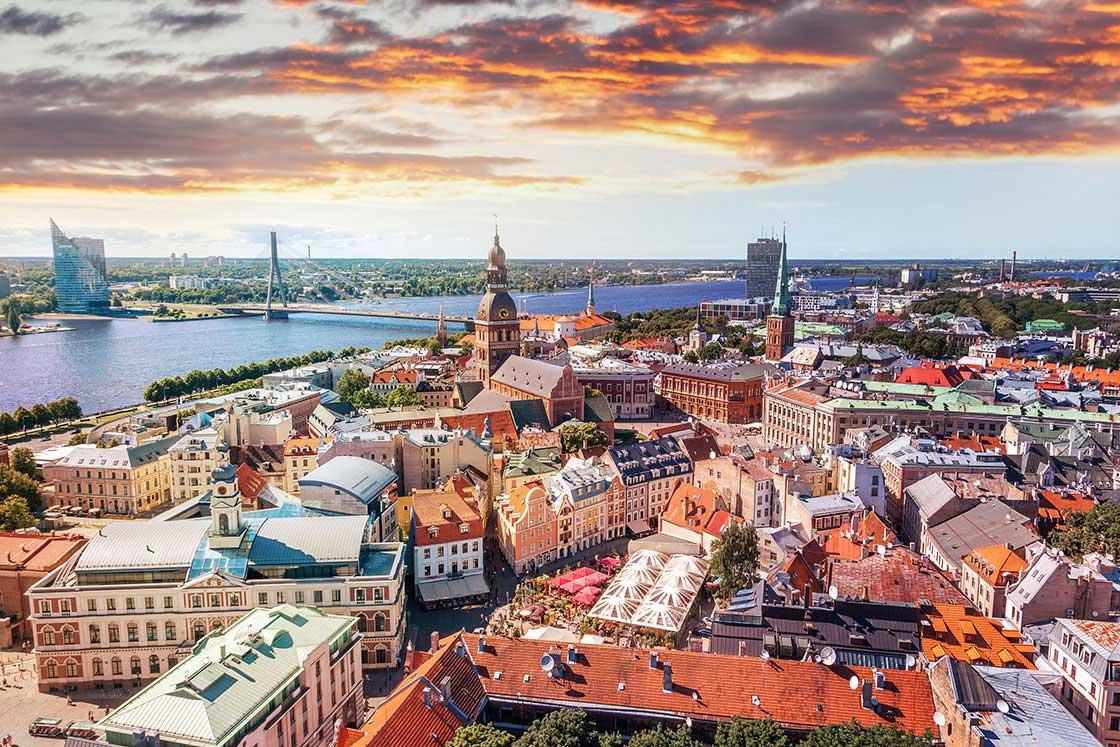 Panorama di Riga