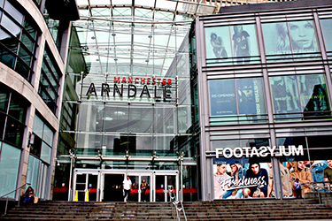 Shopping a Manchester: King Street, Manchester Arndale e Trafford Centre