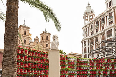 Plaza Santo Domingo a Murcia