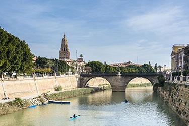 Il Puente de los Peligros o Puente Viejo a Murcia