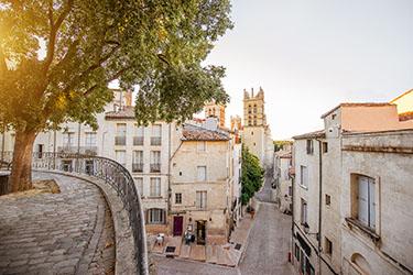 Il centro storico di Montpellier