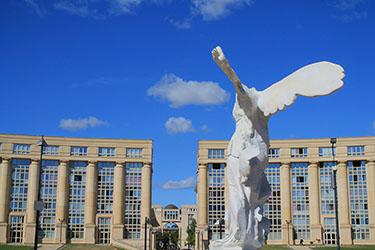 Il quartiere Antigone a Montpellier