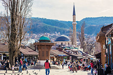 Bašcaršija: il centro storico di Sarajevo