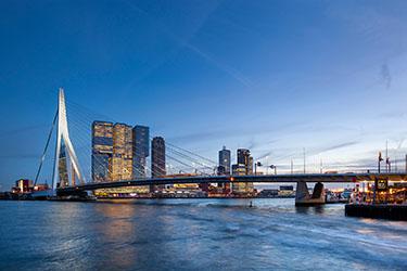 Erasmus Bridge e Spido