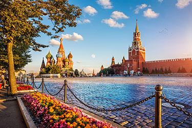 Piazza Rossa e il Mausoleo di Lenin