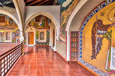Monti Troodos e il Kykkos Monastery