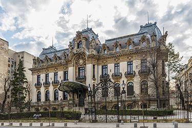 George Enescu e il Palazzo Cantacuzino