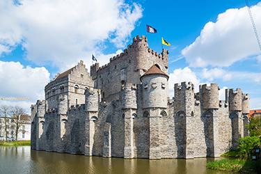 Gravensteen, il Castello dei Conti di Fiandra