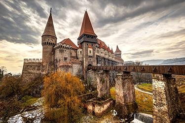 I dintorni di Bucarest: Castello di Dracula e castelli di Transilvania.