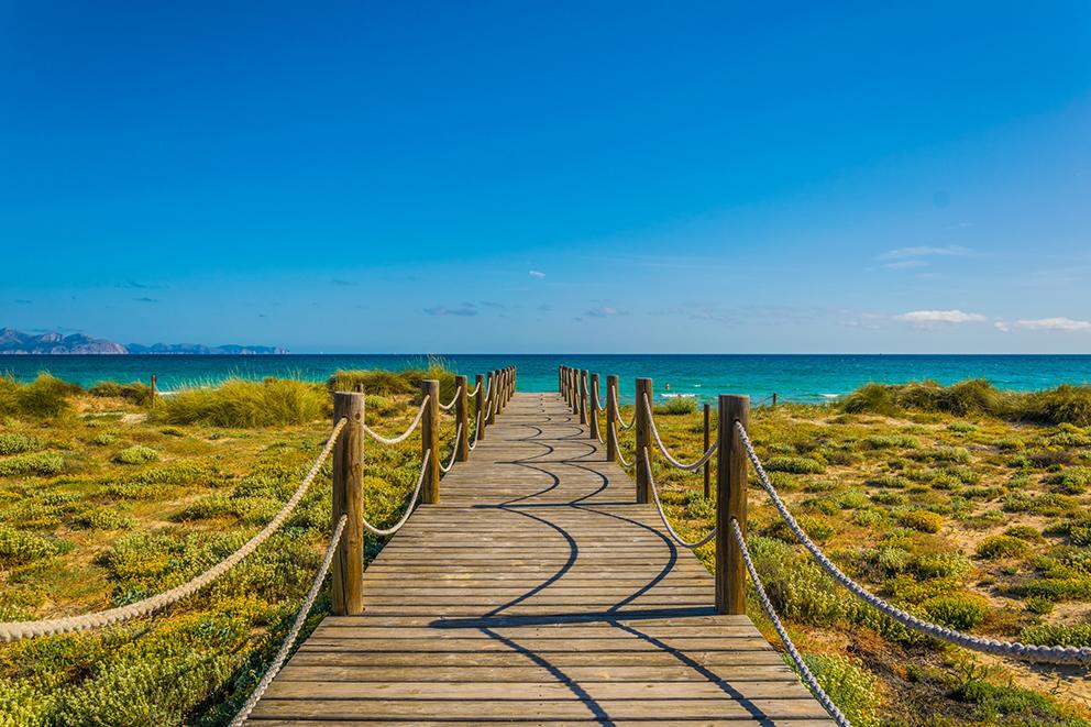 Spiaggia di Sa Canova a Maiorca