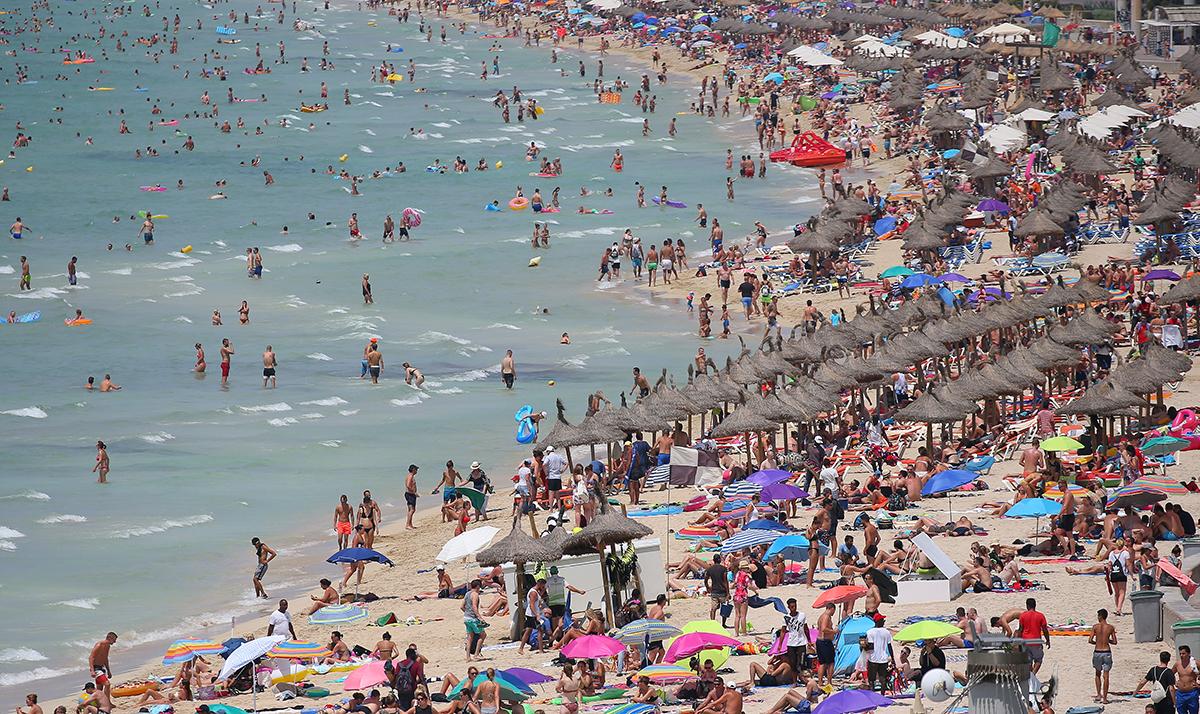 Spiaggia s'Arenal a Maiorca
