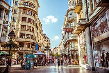 Il centro storico e Ulica Knez Mihailova