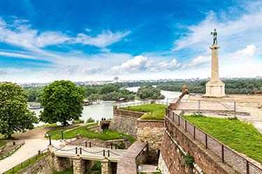 Il Parco di Kalemegdan e la Fortezza di Belgrado