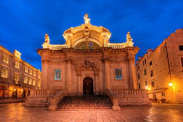 La Chiesa di San Biagio a Dubrovnik
