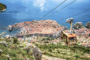 La Funivia di Dubrovnik e il monte Srd