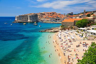 Le spiagge di Dubrovnik