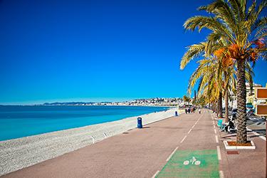 Promenade des Anglais e il Museo storico di Nizza