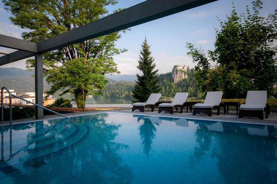 Le terme dell'Hotel Ziva a Bled