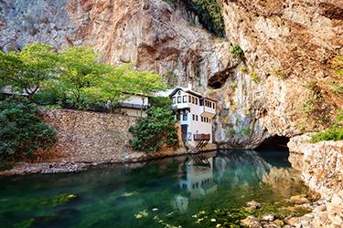 I dintorni di Mostar: Blagaj, Pocitelj, Cascate di Kravice