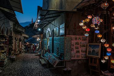 Il mercato coperto di Mostar