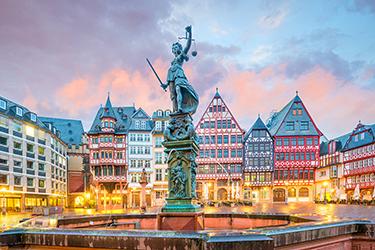 Il Romerberg a Francoforte