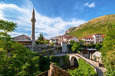 Il Ponte Storto di Mostar