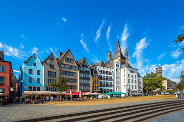 L'Altstadt di Colonia