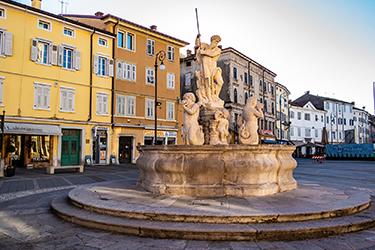 Il centro storico di Gorizia