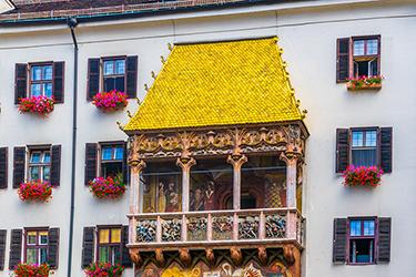 Il Goldenes Dachl (Tettuccio d'Oro)