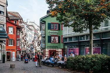 L'Altstadt di Zurigo