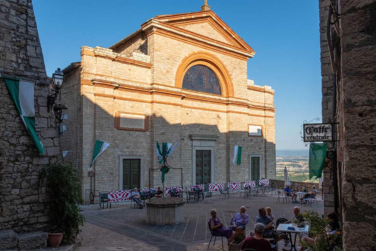 La Chiesa dei S.S Filippo e Giacomo a Monte Castello di Vibio
