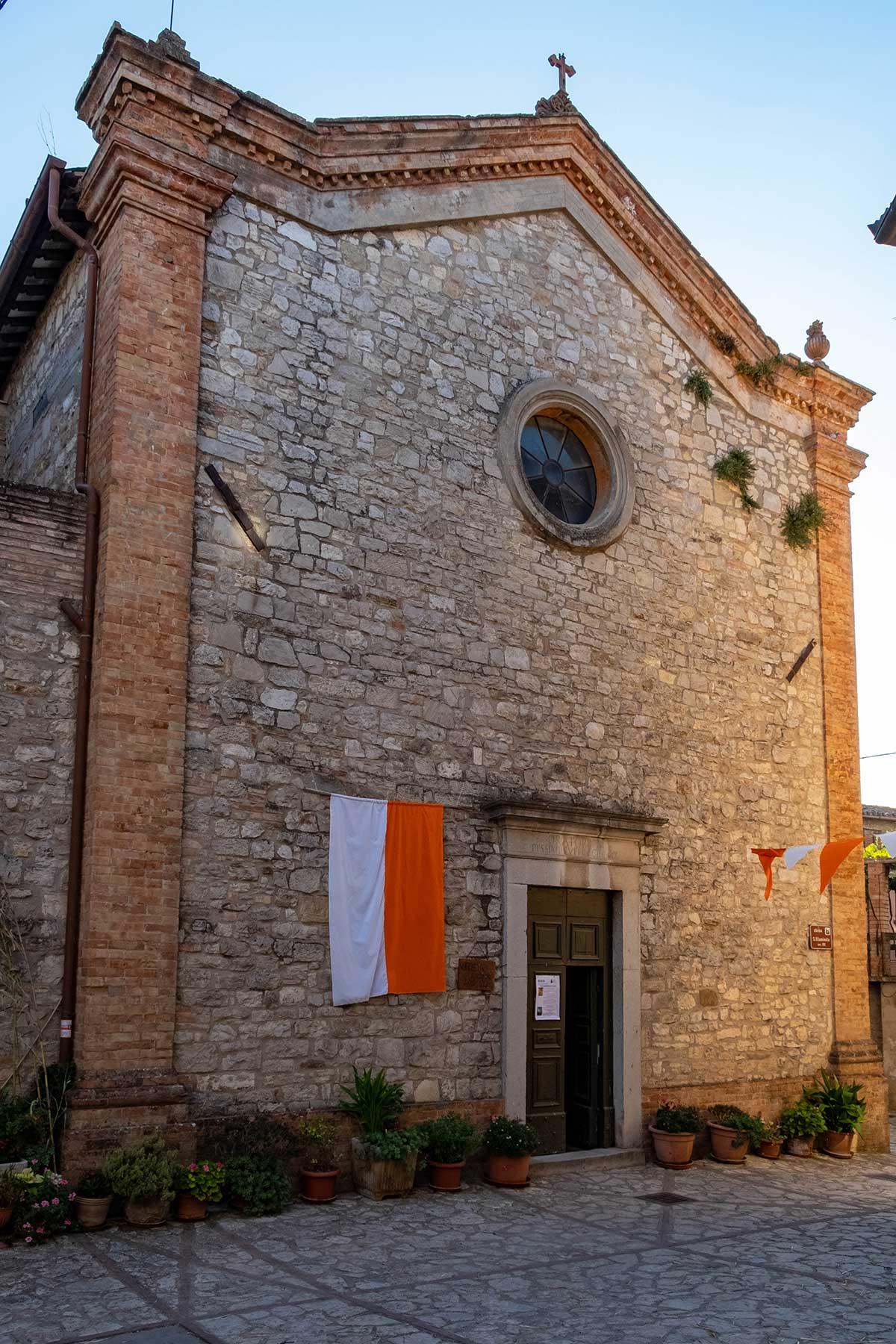 La Chiesa di Santa Illuminata a Monte Castello di Vibio
