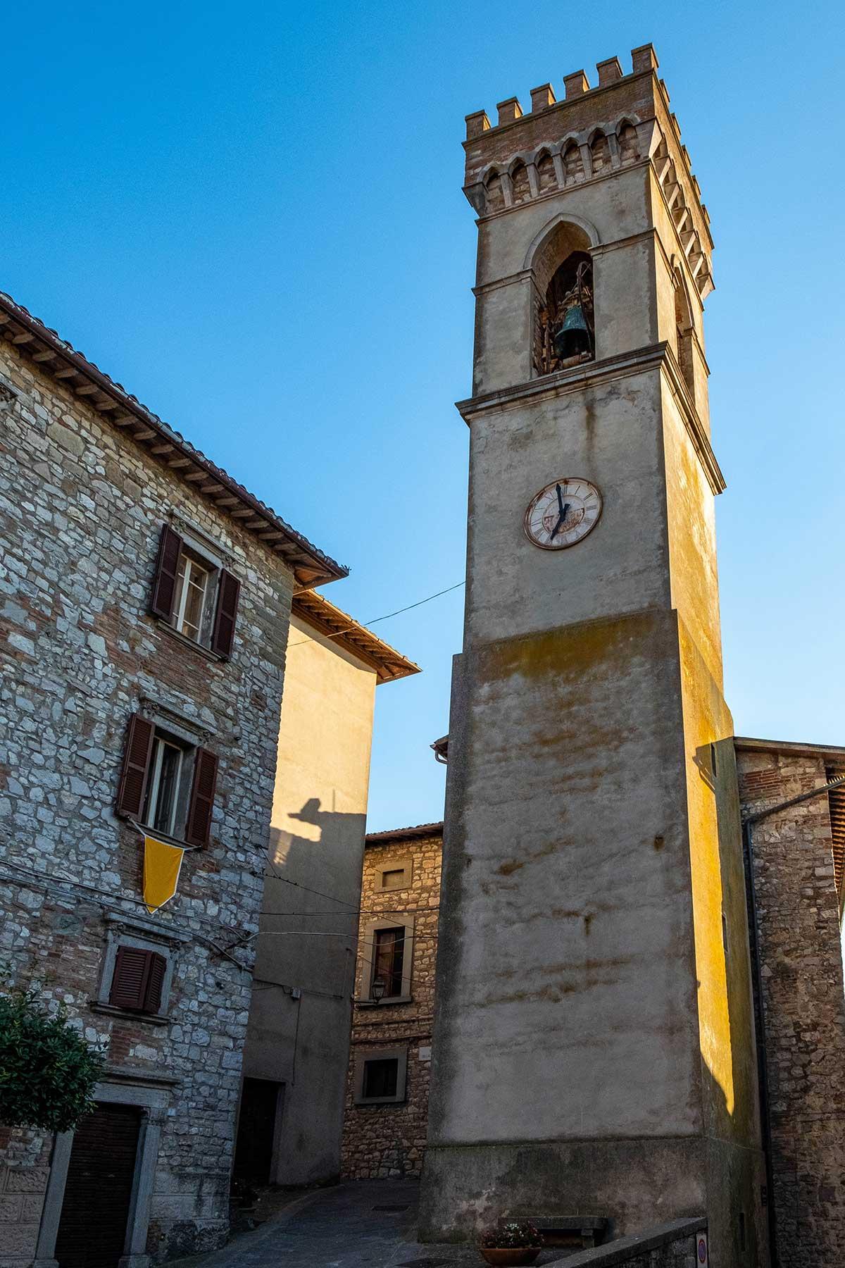 La Torre Campanaria di Monte Castello di Vibio
