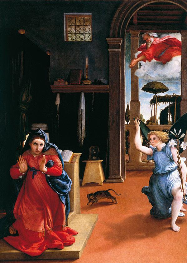 L'Annunciazione di Lorenzo Lotto a Recanati