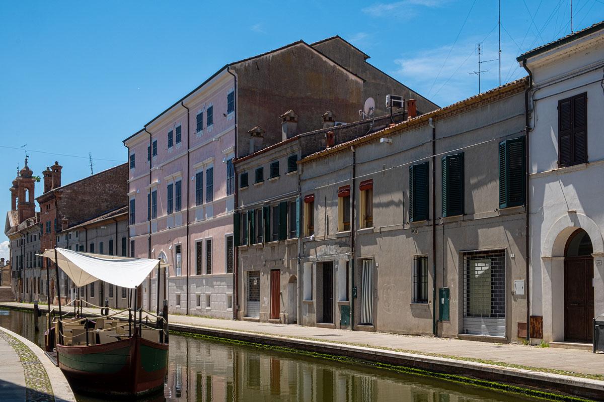 Il centro storico di Comacchio
