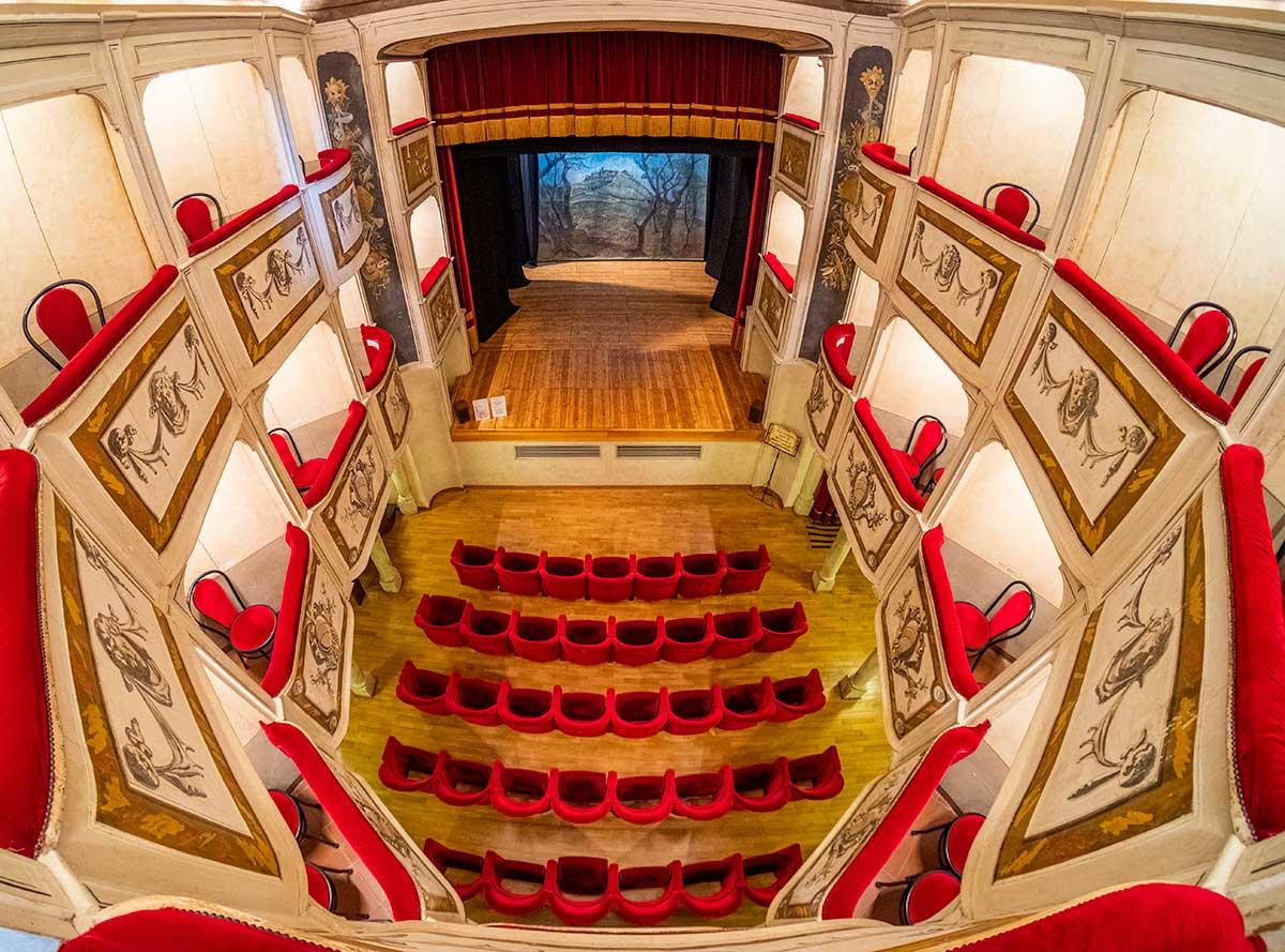 Il teatro della Concordia a Monte Castello di Vibio