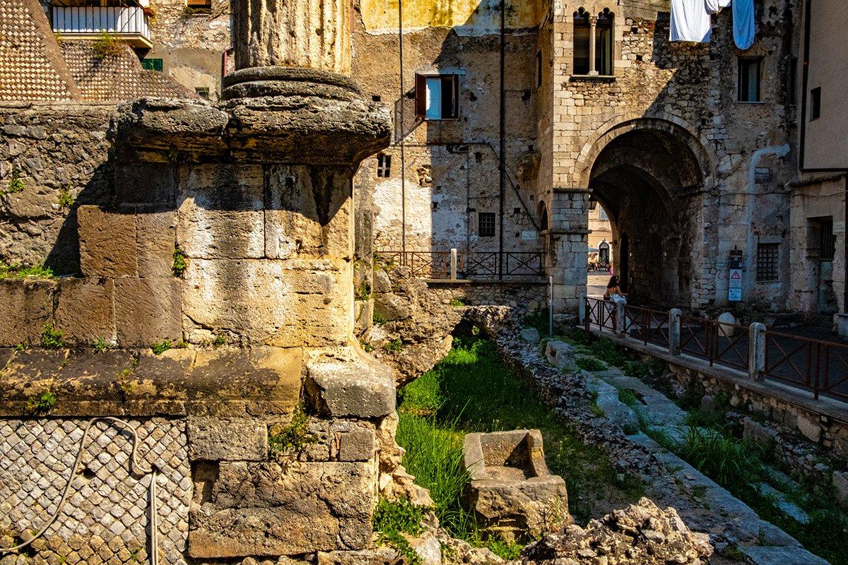 Dettaglio Capitolium Terracina