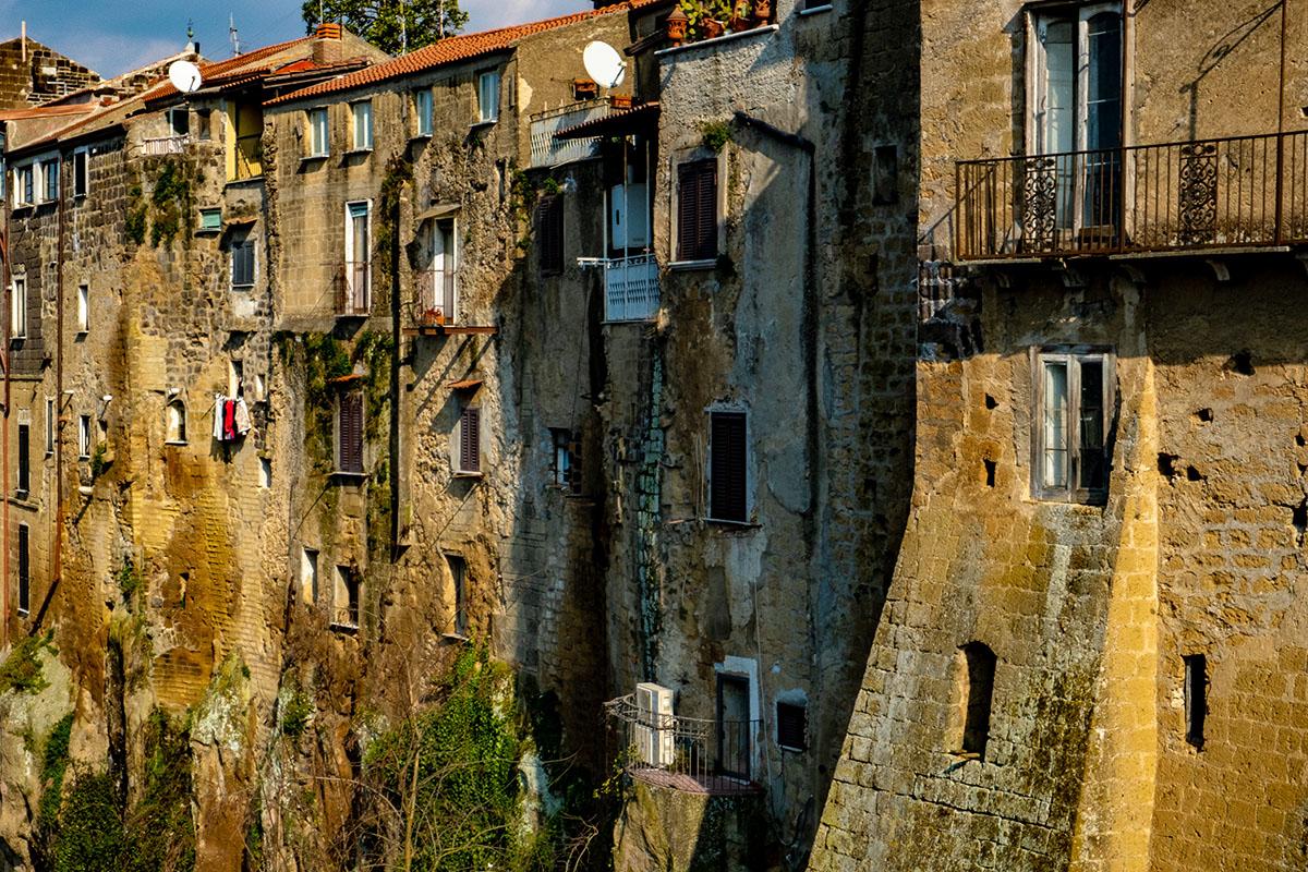 Case in tufo a Sant'Agata de' Goti