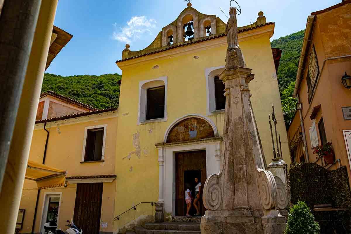 Chiesa dell'Addolorata a Maratea