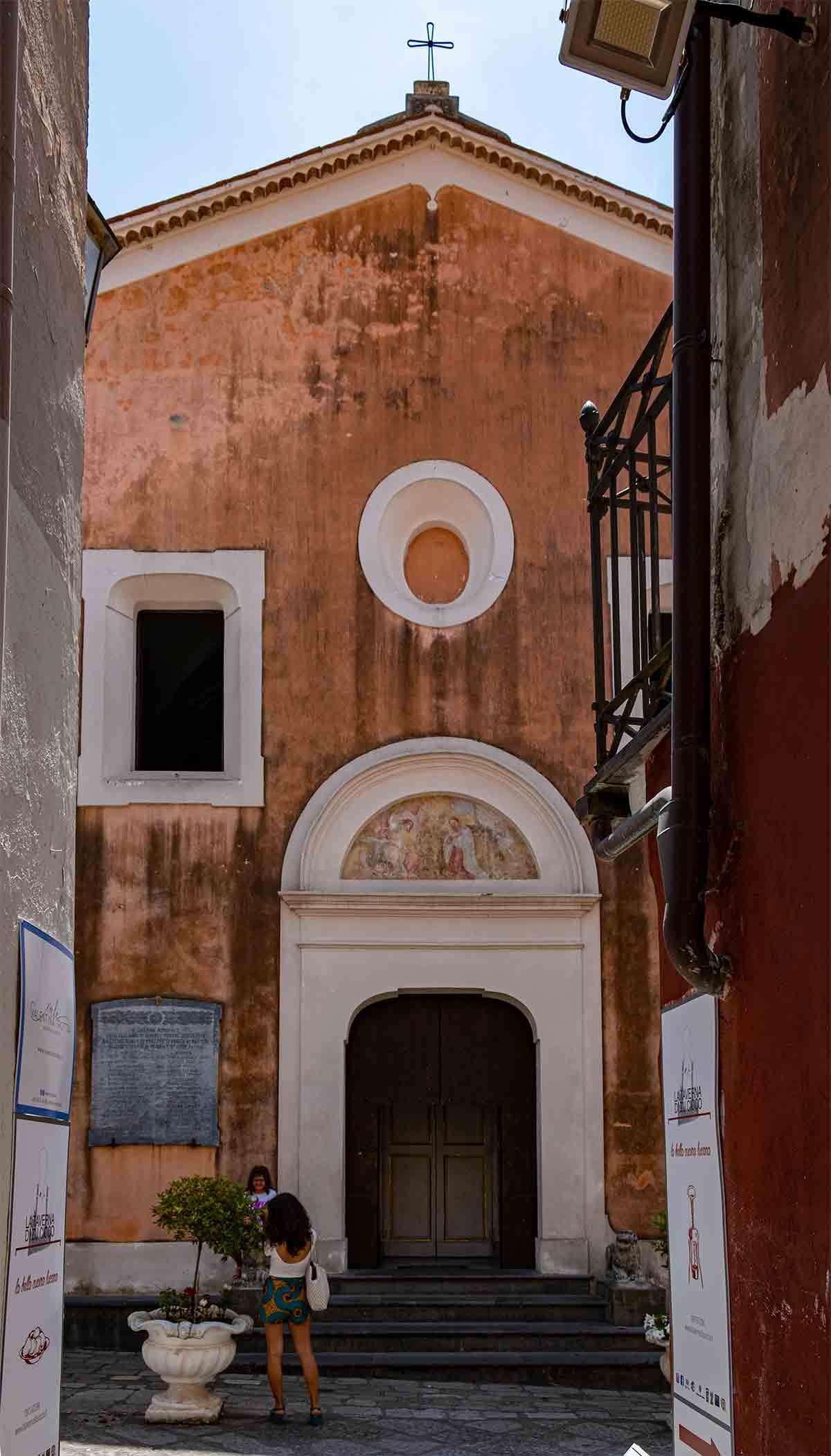 Facciata Chiesa dell'Annunziata a Maratea