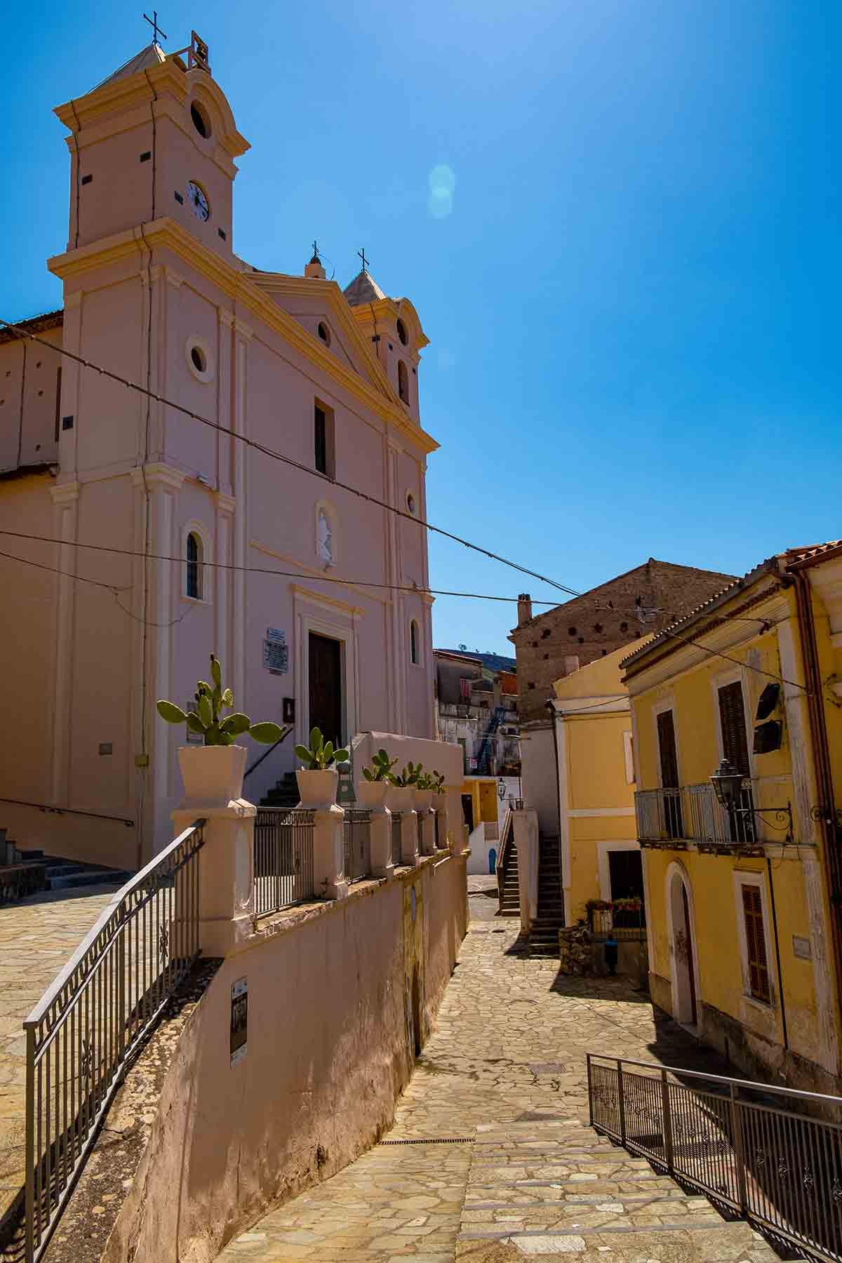Chiesa San Nicola da Tolentino - San Nicola Arcella