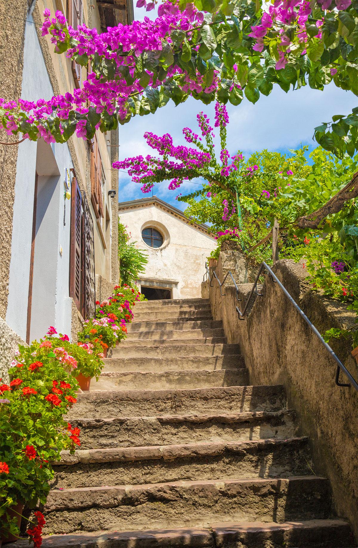 La chiesa di San Rocco a Limone