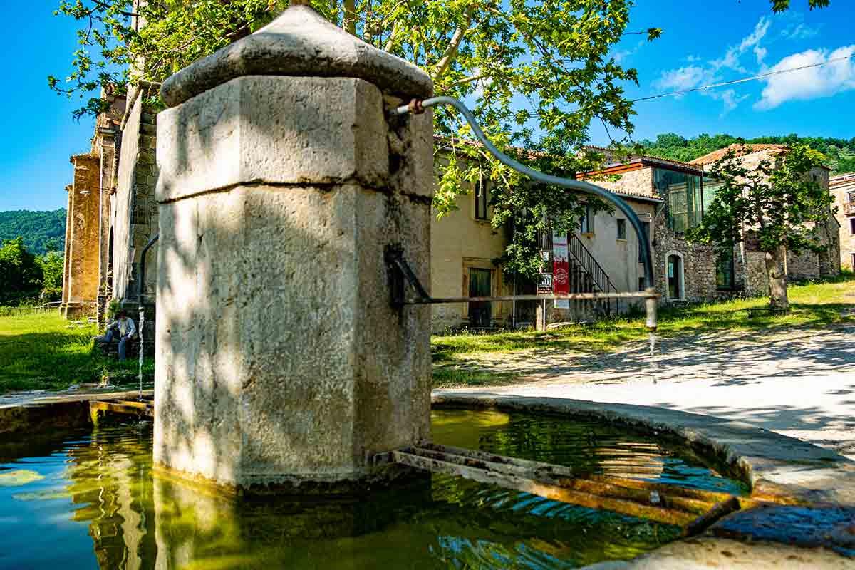 La fontana di Roscigno Vecchia