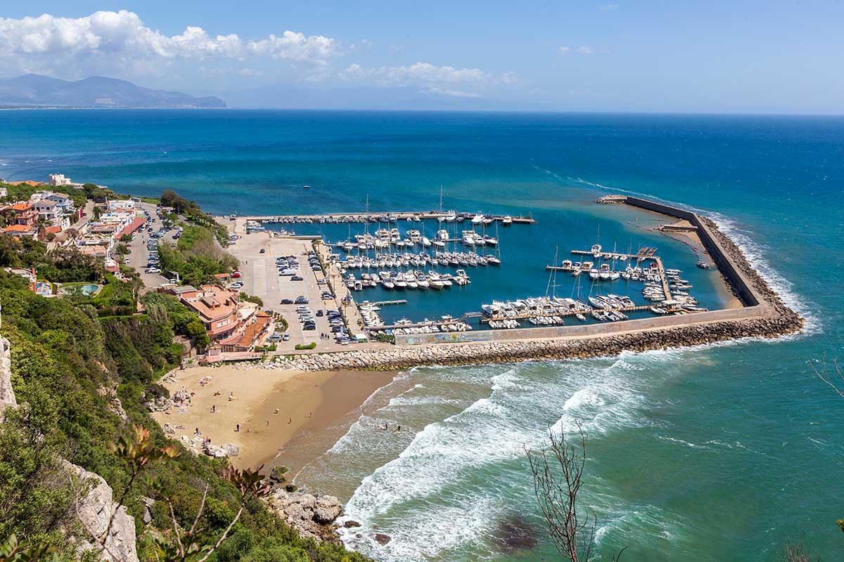 Il porto di San Felice Circeo