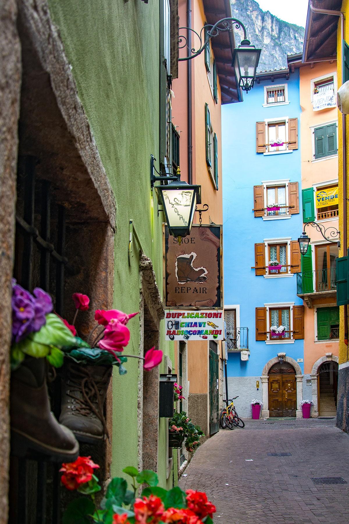 """Il quartiere """"Marocco"""" di Riva del Garda"""