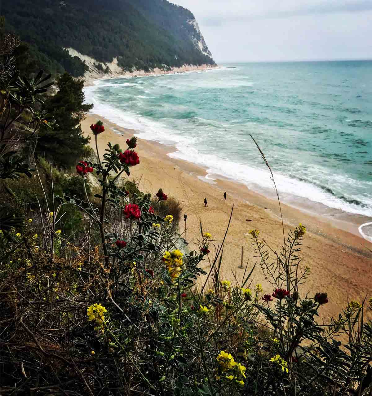 Sirolo, Spiaggia San Michele - foto by Nicolò Brandoni