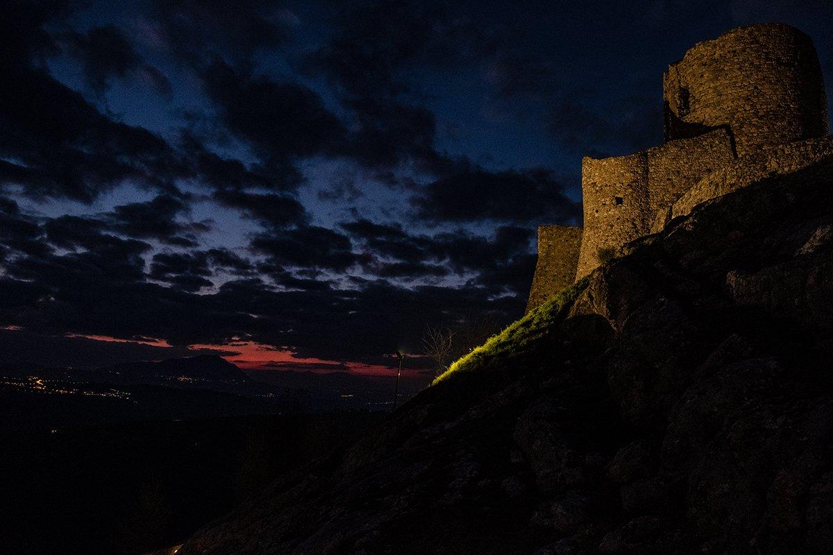 Il torrione di Rocca San Felice