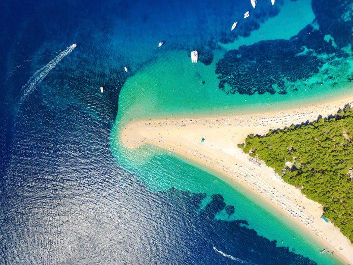 Isola di Brac in Croazia